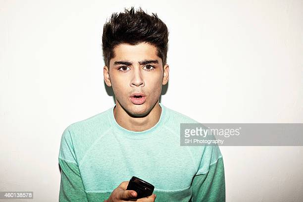 Singer Zayn Malik of pop band One Direction is photographed on May 9 2012 in London England