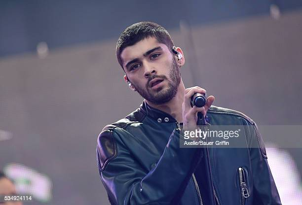 Singer Zayn Malik performs at 1027 KIIS FM's Wango Tango 2016 at StubHub Center on May 14 2016 in Carson California
