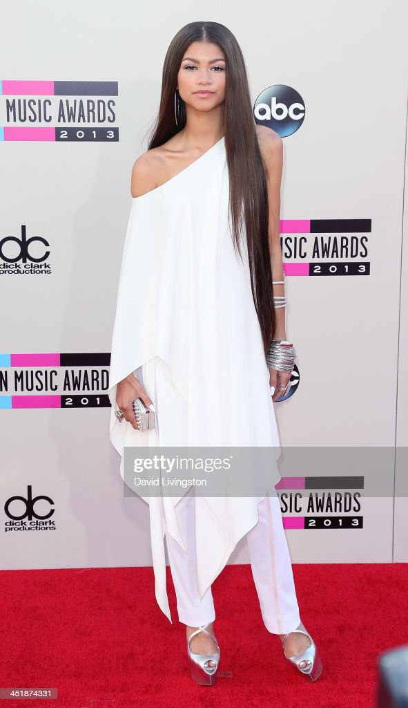 Singer Zendaya attends the 2013 American Music Awards at Nokia Theatre L.A. Live on November 24, 2013 in Los Angeles, California.