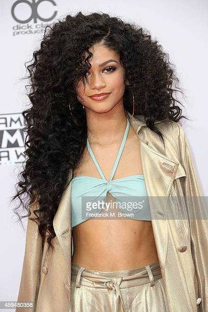 Singer Zendaya Coleman attends the 42nd Annual American Music Awards at the Nokia Theatre LA Live on November 23 2014 in Los Angeles California
