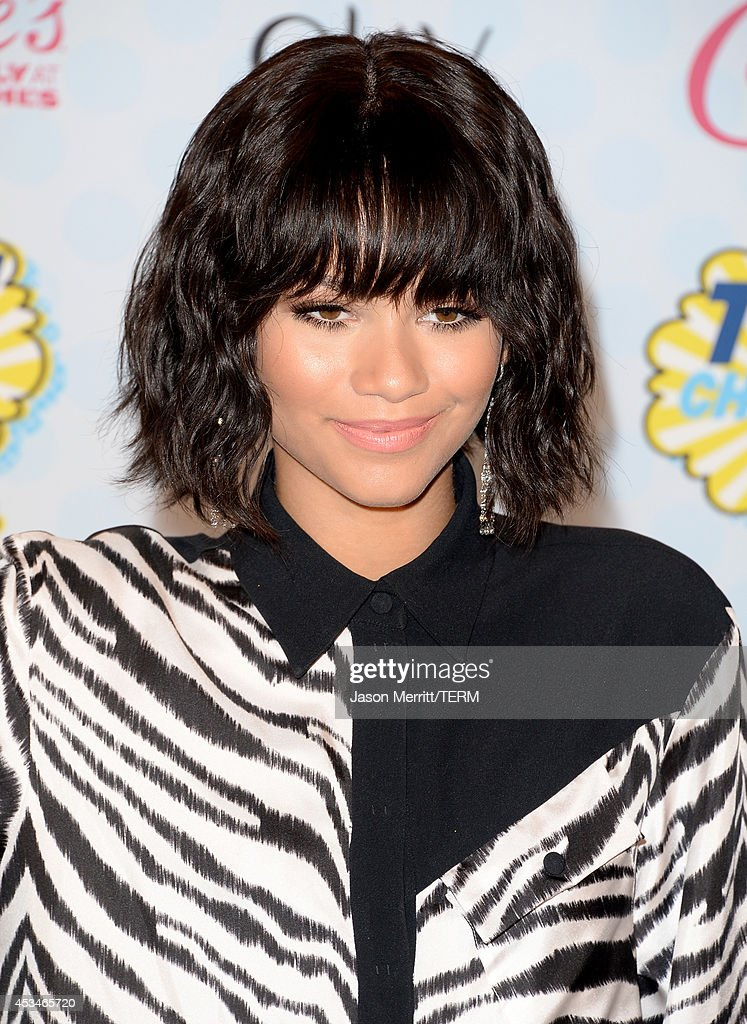 Singer Zendaya poses in the press room during FOX's 2014 Teen Choice Awards at The Shrine Auditorium on August 10, 2014 in Los Angeles, California.