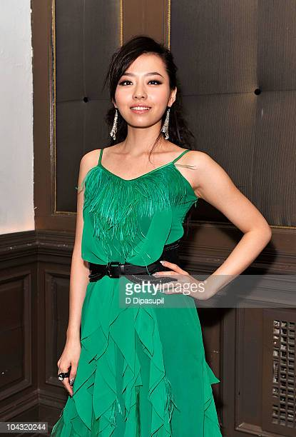 Singer Zhang Liangying attends the 1st New York Chinese Film Festival Tribute Gala Dinner at Capitale on September 20 2010 in New York City