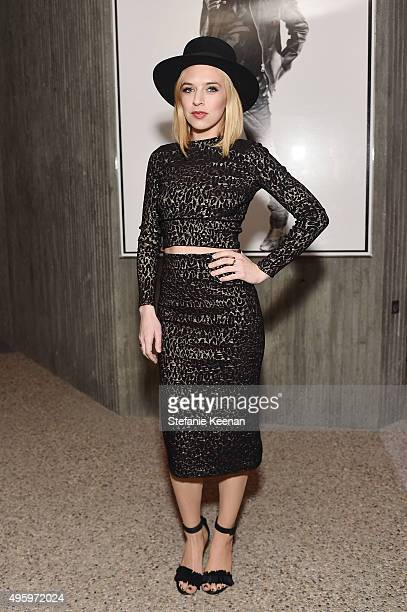 Singer ZZ Ward attends Jeremy Scott For Longchamp 10th Anniversary held at a Private Residence on November 5 2015 in Beverly Hills California