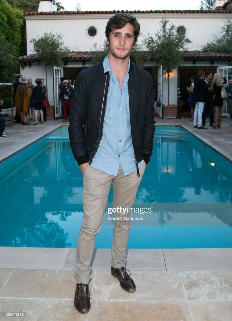 Singer/actor Diego Boneta attends Music Unites 1st Annual Salon Series for AtRisk Youth on June 11 2014 in Los Angeles California