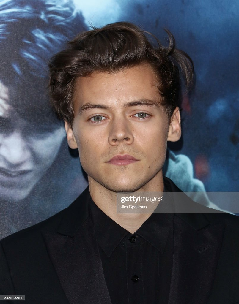 Singer/actor Harry Styles attends the 'DUNKIRK' New York premiere at AMC Lincoln Square IMAX on July 18, 2017 in New York City.