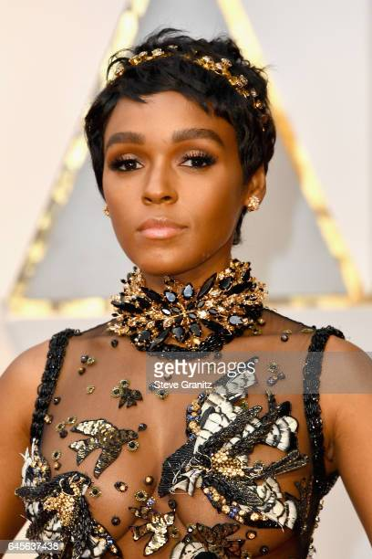 Singer/actor Janelle Monae attends the 89th Annual Academy Awards at Hollywood Highland Center on February 26 2017 in Hollywood California
