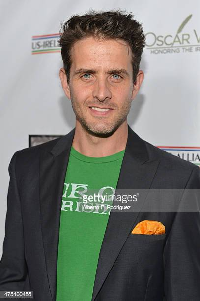 Singer/Actor Joey McIntyre attends the 9th Annual 'Oscar Wilde Honoring The Irish In Film' PreAcademy Awards event at Bad Robot on February 27 2014...