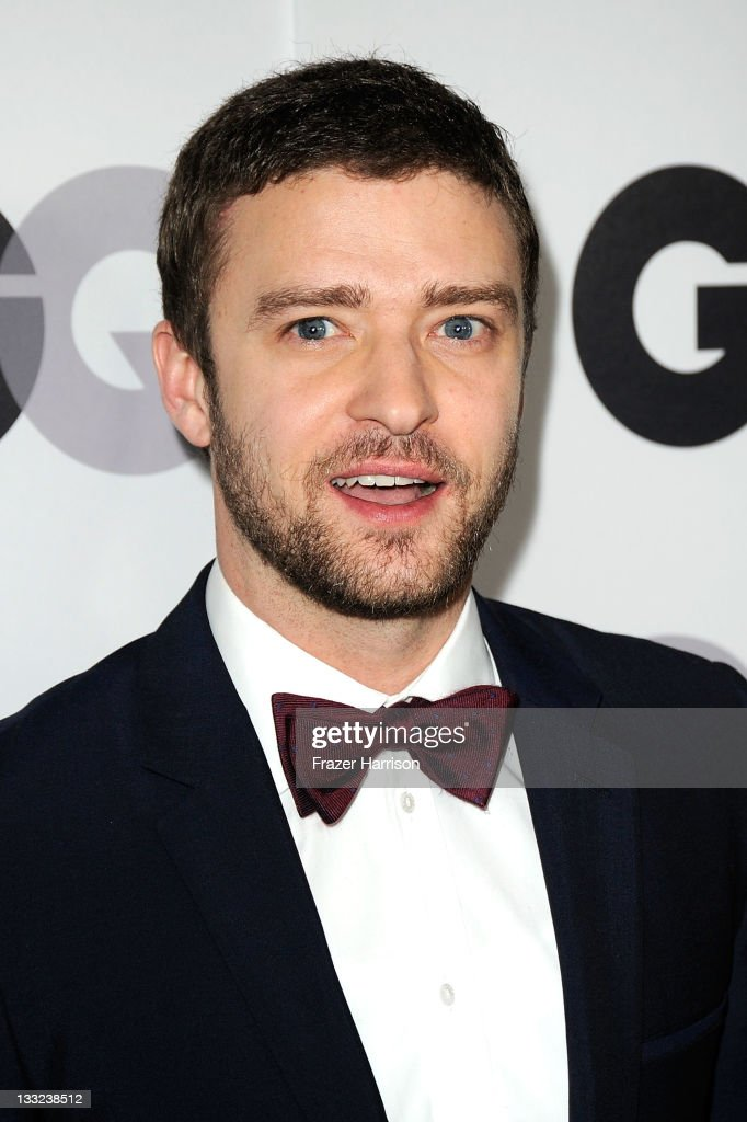 Singer/Actor <a gi-track='captionPersonalityLinkClicked' href=/galleries/search?phrase=Justin+Timberlake&family=editorial&specificpeople=157482 ng-click='$event.stopPropagation()'>Justin Timberlake</a> arrives at the 16th Annual GQ 'Men Of The Year' Party at Chateau Marmont on November 17, 2011 in Los Angeles, California.