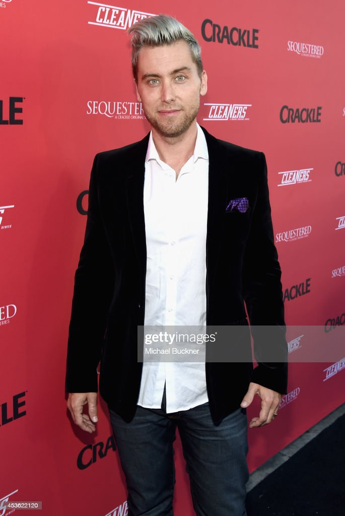 Singer/actor <a gi-track='captionPersonalityLinkClicked' href=/galleries/search?phrase=Lance+Bass&family=editorial&specificpeople=210566 ng-click='$event.stopPropagation()'>Lance Bass</a> attends Crackle Presents: Summer Premieres Event for originals, 'Sequestered' and 'Cleaners' at 1 OAK on August 14, 2014 in West Hollywood, California.