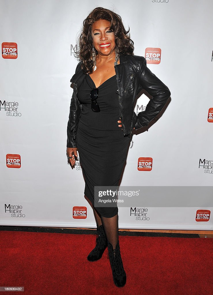 Singer/actor <a gi-track='captionPersonalityLinkClicked' href=/galleries/search?phrase=Mary+Wilson&family=editorial&specificpeople=217769 ng-click='$event.stopPropagation()'>Mary Wilson</a> arrives at Margie Haber Studio's 'Stop Acting App: The Audition Class with Margie Haber' release launch party at Aventine Hollywood on September 17, 2013 in Hollywood, California.