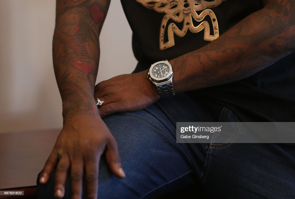 Singer/actor Ray J, watch detail, attends a meet-and-greet for the 'Homes 4 Heroes' television project on June 19, 2017 in Las Vegas, Nevada.