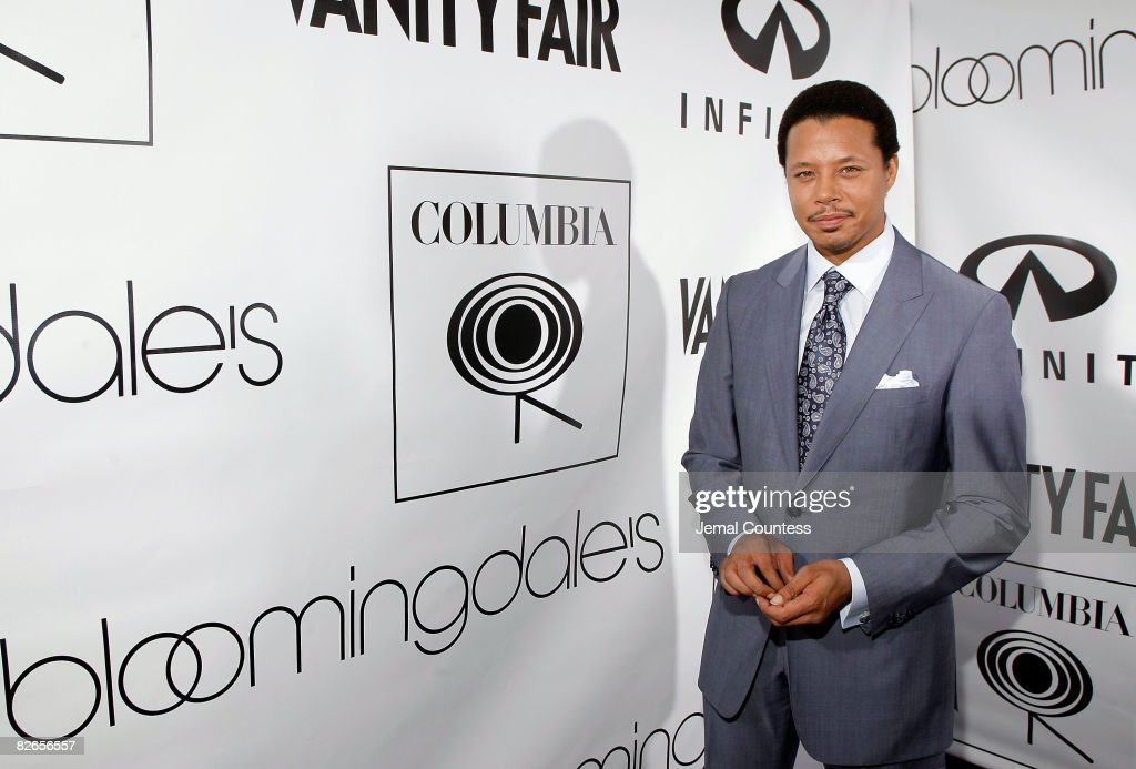Singer/Actor Terrence Howard arrives at The Beat of Chic Party at Bloomingdale's on September 3, 2008 in New York City