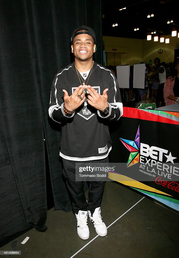 Singer/actor <a gi-track='captionPersonalityLinkClicked' href=/galleries/search?phrase=Tristan+Wilds&family=editorial&specificpeople=3025356 ng-click='$event.stopPropagation()'>Tristan Wilds</a> attends Music Matters presented by Nissan during the 2014 BET Experience At L.A. LIVE on June 28, 2014 in Los Angeles, California.