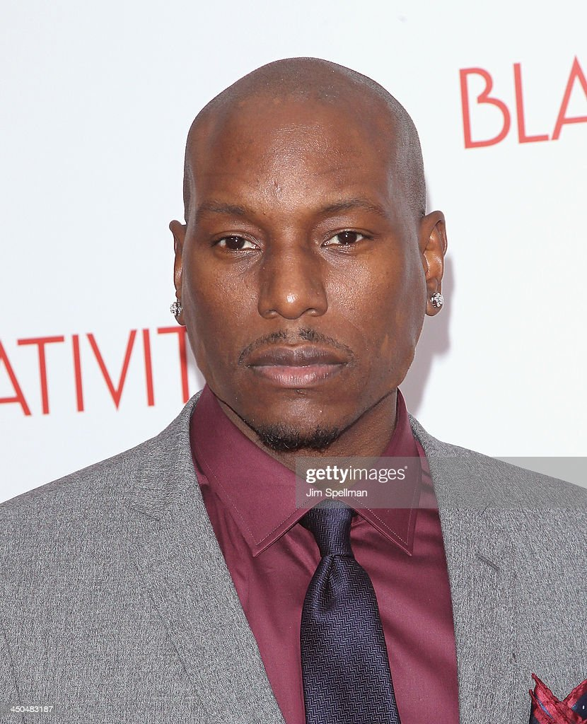Singer/actor Tyrese Gibson attends the 'Black Nativity' premiere at The Apollo Theater on November 18, 2013 in New York City.