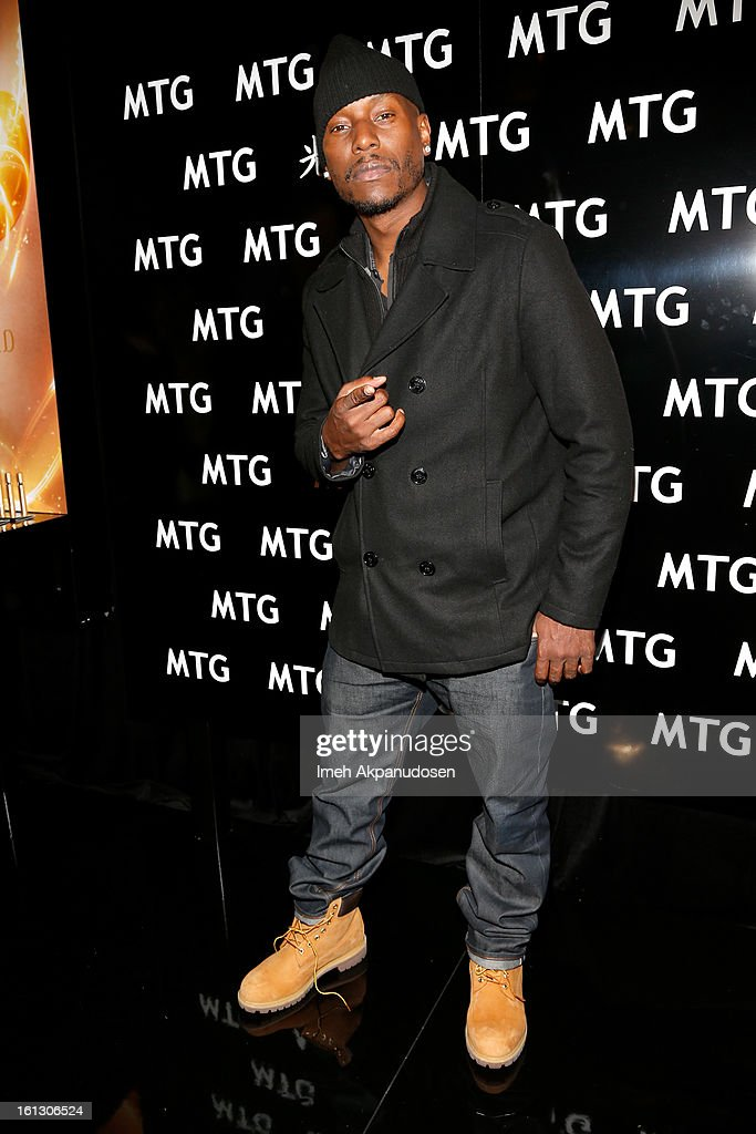 Singer/actor <a gi-track='captionPersonalityLinkClicked' href=/galleries/search?phrase=Tyrese&family=editorial&specificpeople=206177 ng-click='$event.stopPropagation()'>Tyrese</a> Gibson attends the GRAMMY Gift Lounge during the 55th Annual GRAMMY Awards at STAPLES Center on February 9, 2013 in Los Angeles, California.