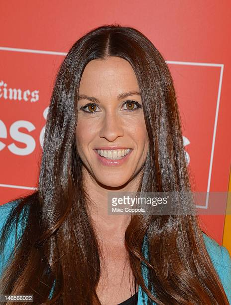 Singer/actress Alanis Morissette attends TimesTalk Presents An Evening With Alanis Morrisette at TheTimesCenter on June 19 2012 in New York City