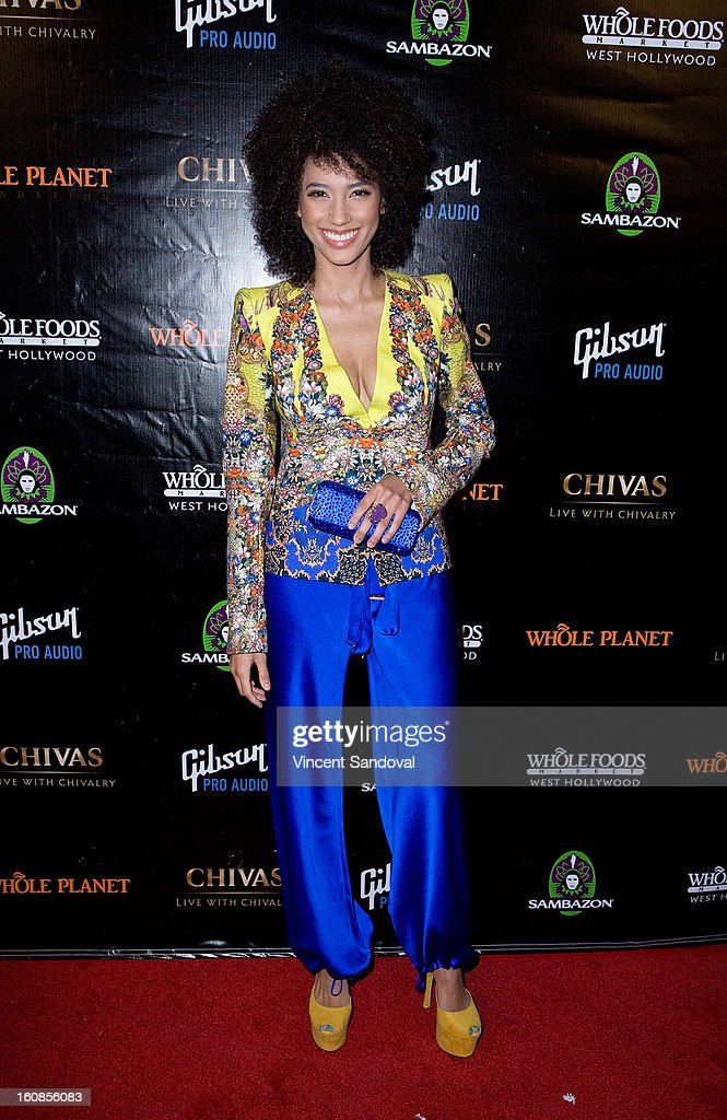 Singer/Actress Andy Allo attends The Grammy Awards: Whole Planet Foundation pre-Grammy benefit concert at East West Recording Studio on February 6, 2013 in Hollywood, California.