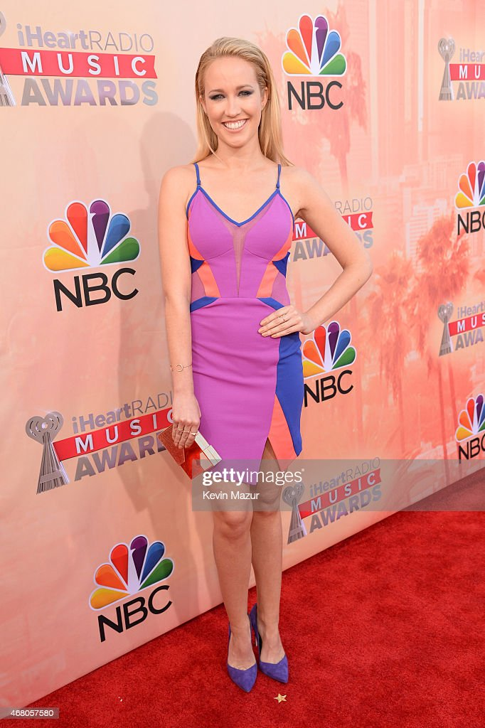 Singer/actress Anna Camp attends the 2015 iHeartRadio Music Awards which broadcasted live on NBC from The Shrine Auditorium on March 29 2015 in Los...