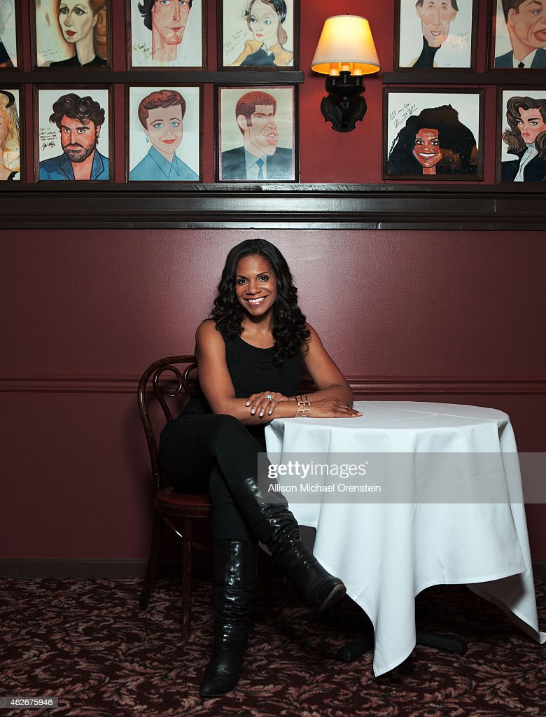 Singer/actress Audra McDonald is photographed for Wall Street Journal on November 12, 2014 in New York City.