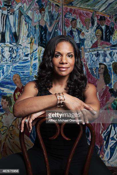 Singer/actress Audra McDonald is photographed for Wall Street Journal on November 12 2014 in New York City