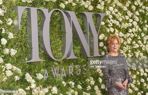 Singer/actress Bette Midler attends the 71st Annual Tony Awards at Radio City Music Hall on June 11 2017 in New York City