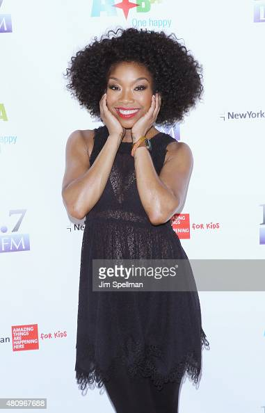 Singer/actress Brandy Norwood attends '1067 LITE FM's Broadway in Bryant Park' the at Bryant Park on July 16 2015 in New York City