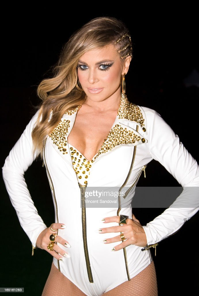 Singer/actress Carmen Electra attends the Circus Xtreme T-Dance during Jeffrey Sanker presents White Party Palm Springs 2013 Day 3 at the White Party Park on March 31, 2013 in Palm Springs, California.