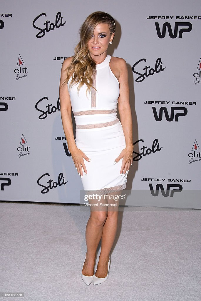 Singer/actress Carmen Electra attends The White Party during Jeffrey Sanker Presents White Party Palm Springs 2013 - Day 2 at the Convention Center on March 30, 2013 in Palm Springs, California.