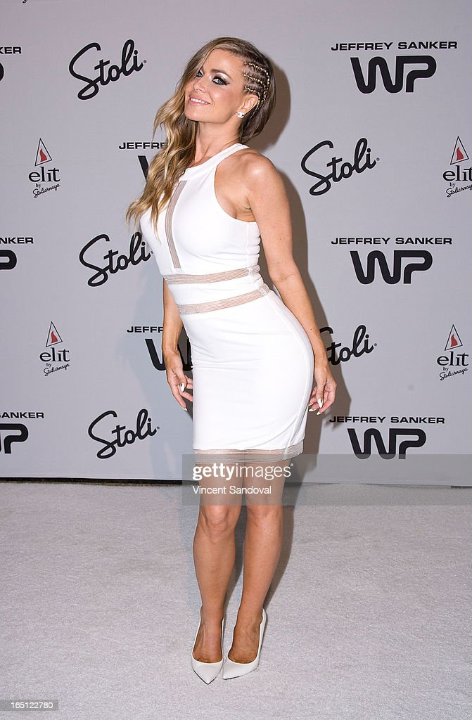Singer/actress <a gi-track='captionPersonalityLinkClicked' href=/galleries/search?phrase=Carmen+Electra&family=editorial&specificpeople=171242 ng-click='$event.stopPropagation()'>Carmen Electra</a> attends The White Party during Jeffrey Sanker Presents White Party Palm Springs 2013 - Day 2 at the Convention Center on March 30, 2013 in Palm Springs, California.