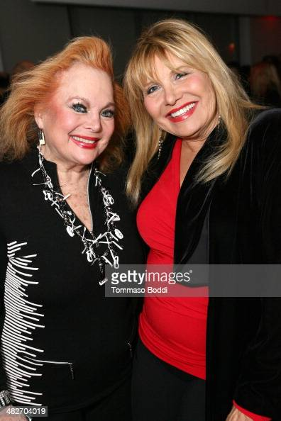 Singer/actress Carol Connors and swimsuit designer Carol Wior attend the 'Instructions Not Included' screening and reception on January 14 2014 in...