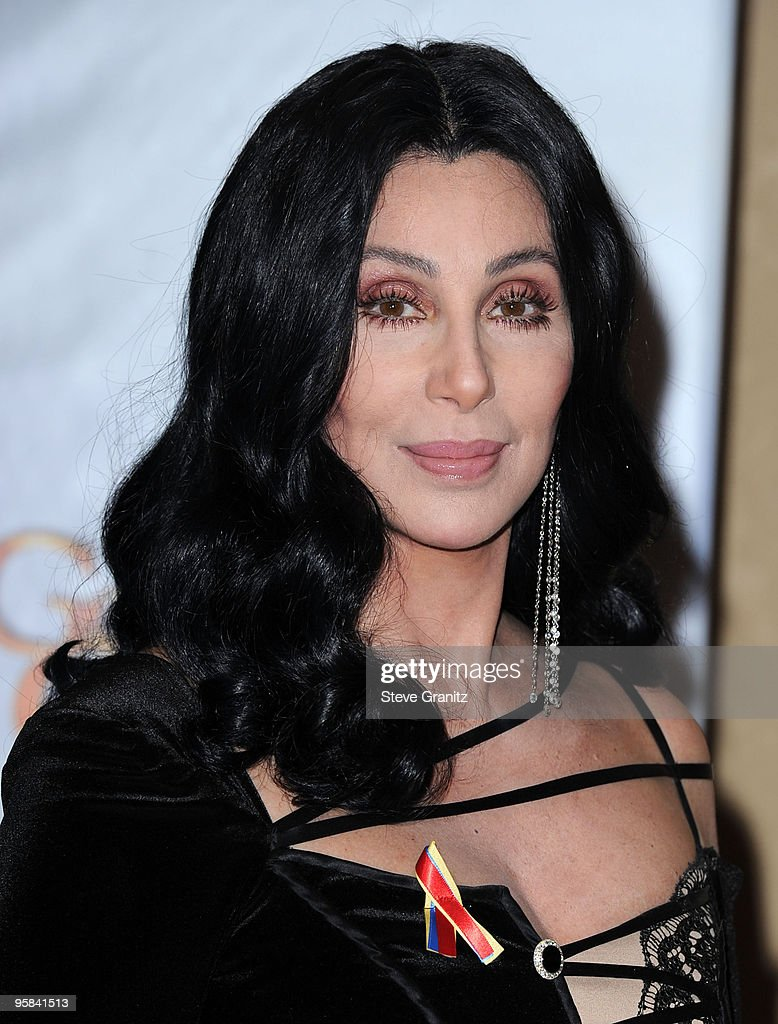 Singer/actress <a gi-track='captionPersonalityLinkClicked' href=/galleries/search?phrase=Cher+-+Performer&family=editorial&specificpeople=203036 ng-click='$event.stopPropagation()'>Cher</a> poses in the press room at the 67th Annual Golden Globe Awards at The Beverly Hilton Hotel on January 17, 2010 in Beverly Hills, California.