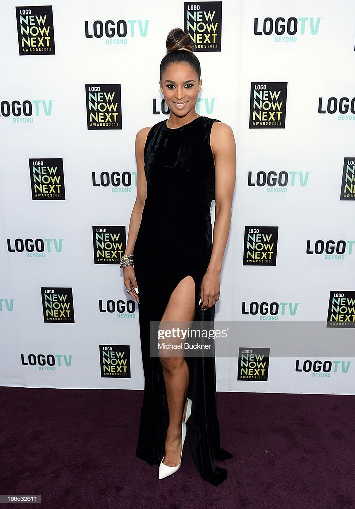 Singer/actress <a gi-track='captionPersonalityLinkClicked' href=/galleries/search?phrase=Ciara+-+Singer&family=editorial&specificpeople=11647122 ng-click='$event.stopPropagation()'>Ciara</a> attends the 2013 NewNowNext Awards at The Fonda Theatre on April 13, 2013 in Los Angeles, California.