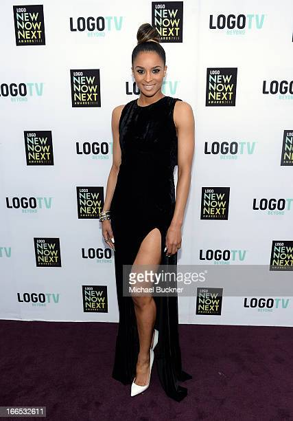 Singer/actress Ciara attends the 2013 NewNowNext Awards at The Fonda Theatre on April 13 2013 in Los Angeles California