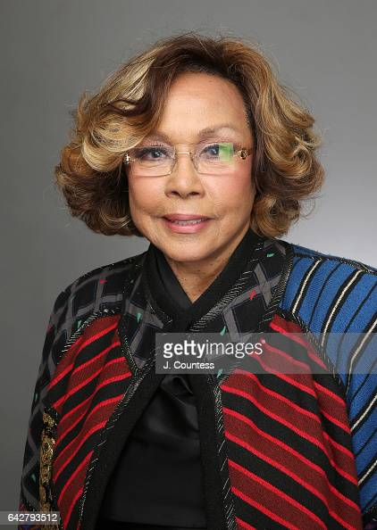 Singer/actress Diahann Carroll poses for a portrait for BET's 2017 American Black Film Festival Honors Awards at The Beverly Hilton Hotel on February...