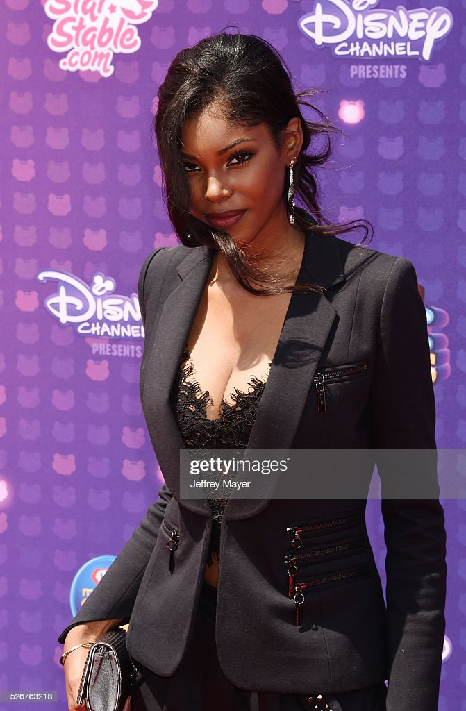 Singer/actress Diamond White attends the 2016 Radio Disney Music Awards at the Microsoft Theater on April 30, 2016 in Los Angeles, California.