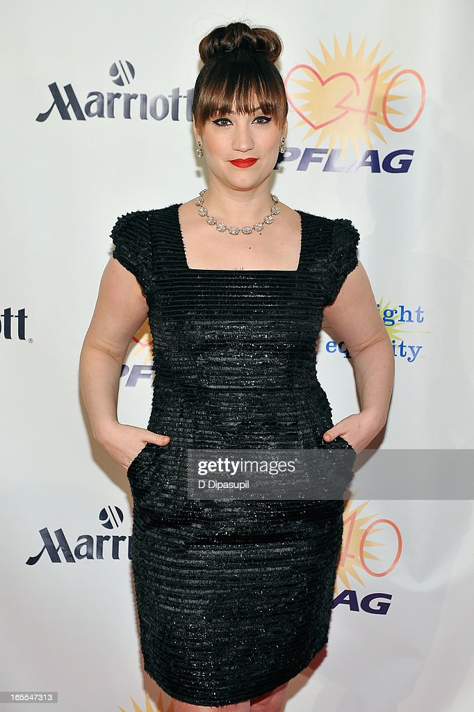 Singer/actress Eden Espinosa attends the fifth annual PFLAG National Straight for Equality Awards at Marriott Marquis Hotel on April 4, 2013 in New York City.