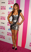 Singer/Actress Eve arrives at Perez Hilton's CARNEVIL Theatrical Freak Funk 32nd birthday party on March 27 2010 in Los Angeles California