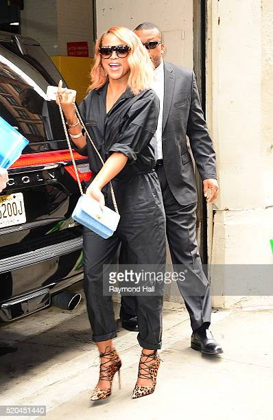 Singer/Actress Eve is seen walking in Soho on April 11 2016 in New York City