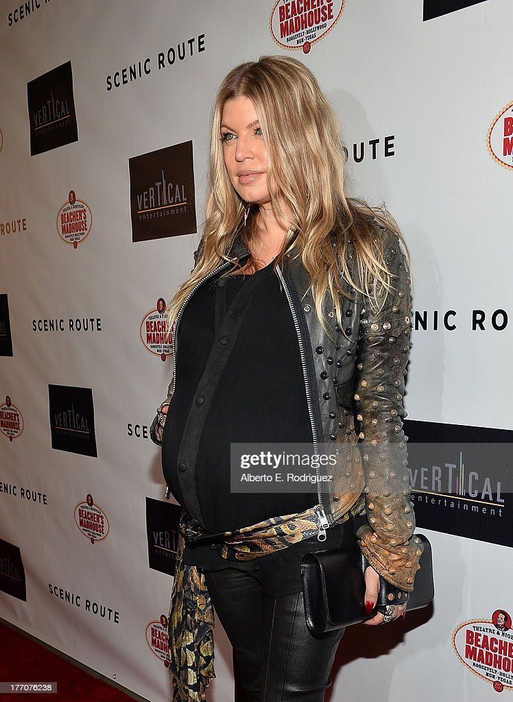 Singer/actress Fergie arrives at the premiere of Vertical Entertainment's 'Scenic Route' at Chinese 6 Theater- Hollywood on August 20, 2013 in Hollywood, California.