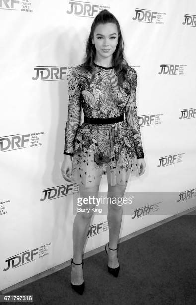 Singer/actress Hailee Steinfeld attends JDRF LA Chapter's Imagine Gala at The Beverly Hilton Hotel on April 22 2017 in Beverly Hills California