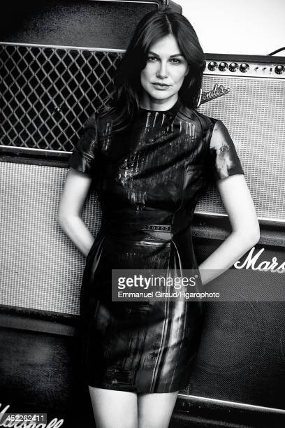 107179003 Singer/actress Helena Noguerra is photographed for Madame Figaro on June 19 2013 in Paris France Dress PUBLISHED IMAGE CREDIT MUST READ...