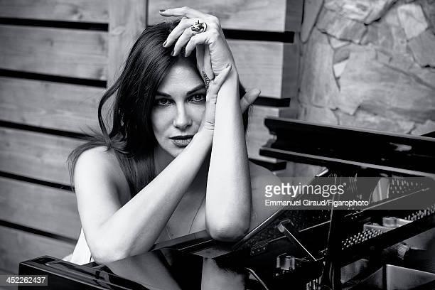 107179009 Singer/actress Helena Noguerra is photographed for Madame Figaro on June 19 2013 in Paris France Dress CREDIT MUST READ Emmanuel...