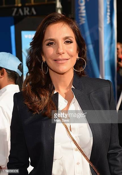 Singer/Actress Ivete Sangalo attends the premiere of Disney's 'Planes' at the El Capitan Theatre on August 5 2013 in Hollywood California