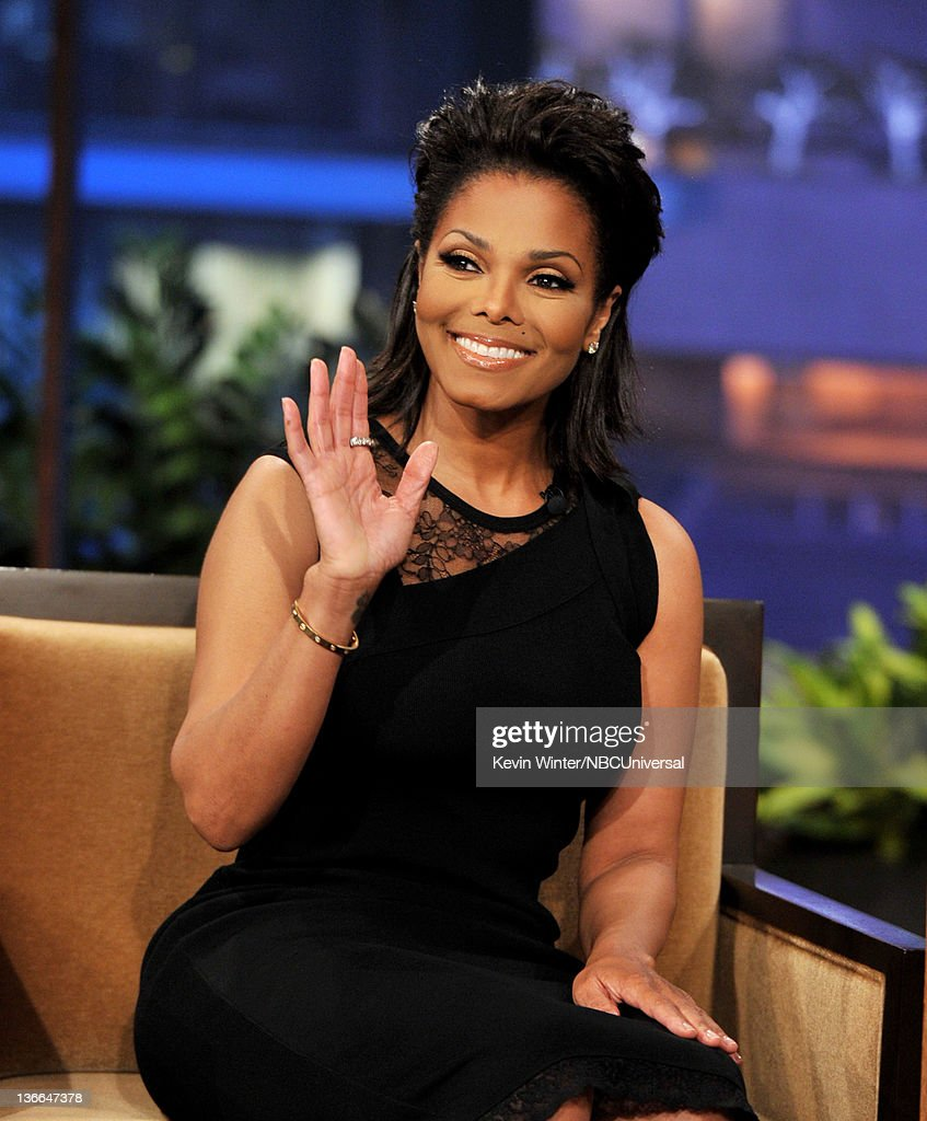 "Janet Jackson, Larry The Cable Guy And Eli Young Band On ""The Tonight Show With Jay Leno"""