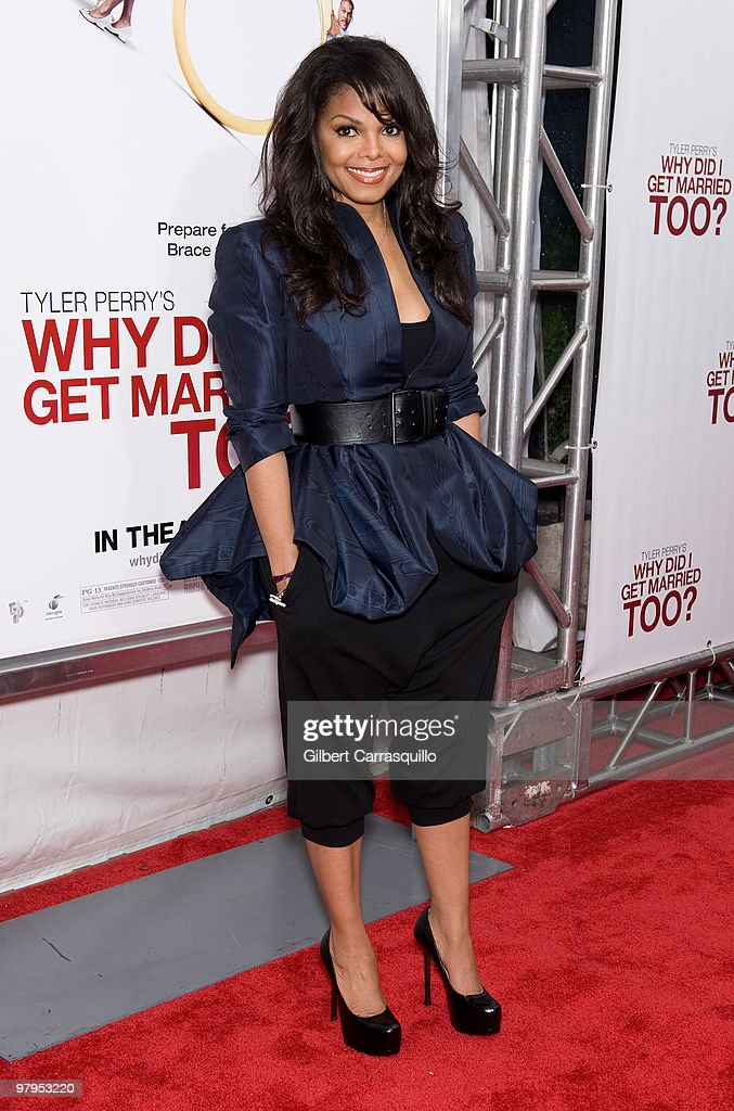 Singer/actress Janet Jackson attends the special screening of 'Why Did I Get Married Too' at the School of Visual Arts Theater on March 22, 2010 in New York City.