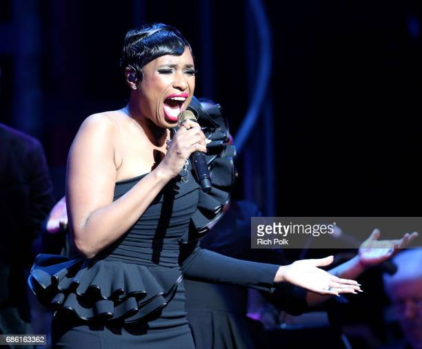 Singer/actress Jennifer Hudson performs onstage at the Center Theatre Group 50th Anniversary Celebration at Ahmanson Theatre on May 20 2017 in Los...