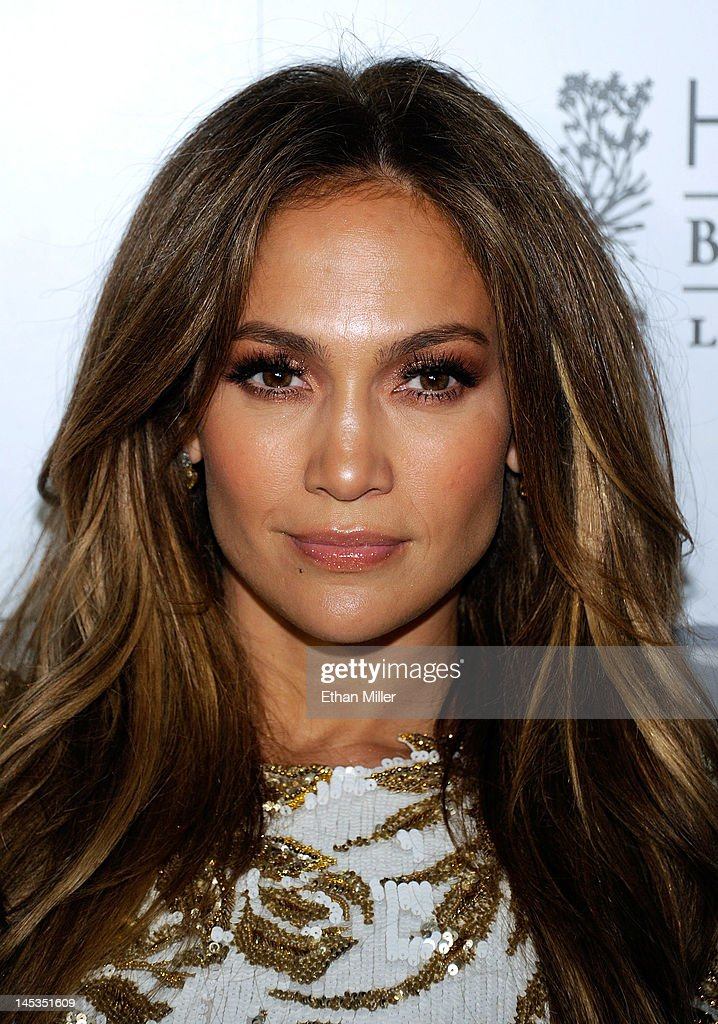 Singer/actress <a gi-track='captionPersonalityLinkClicked' href=/galleries/search?phrase=Jennifer+Lopez&family=editorial&specificpeople=201784 ng-click='$event.stopPropagation()'>Jennifer Lopez</a> arrives at Hyde Bellagio at the Bellagio to celebrate the launch of her new single, 'Goin' In' May 27, 2012 in Las Vegas, Nevada.
