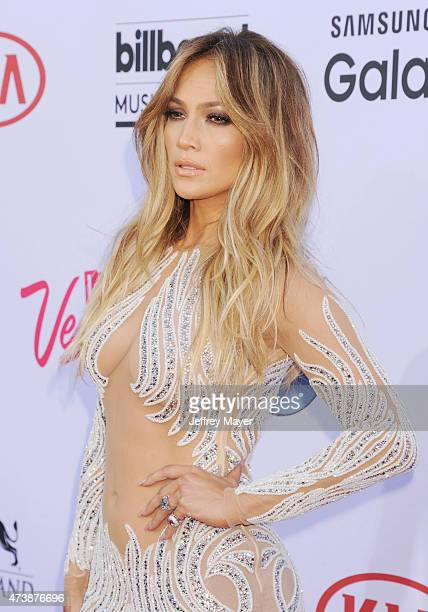Singer/actress Jennifer Lopez arrives at the 2015 Billboard Music Awards at the MGM Grand Garden Arena on May 17 2015 in Las Vegas Nevada