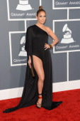 Singer/actress Jennifer Lopez arrives at the 55th Annual GRAMMY Awards at Staples Center on February 10 2013 in Los Angeles California