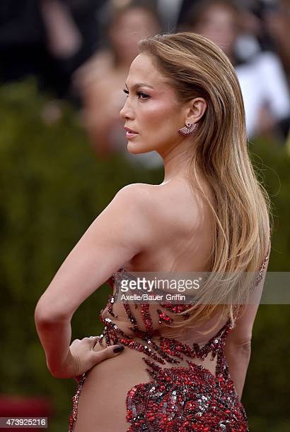 Singer/actress Jennifer Lopez attends the 'China Through The Looking Glass' Costume Institute Benefit Gala at the Metropolitan Museum of Art on May 4...